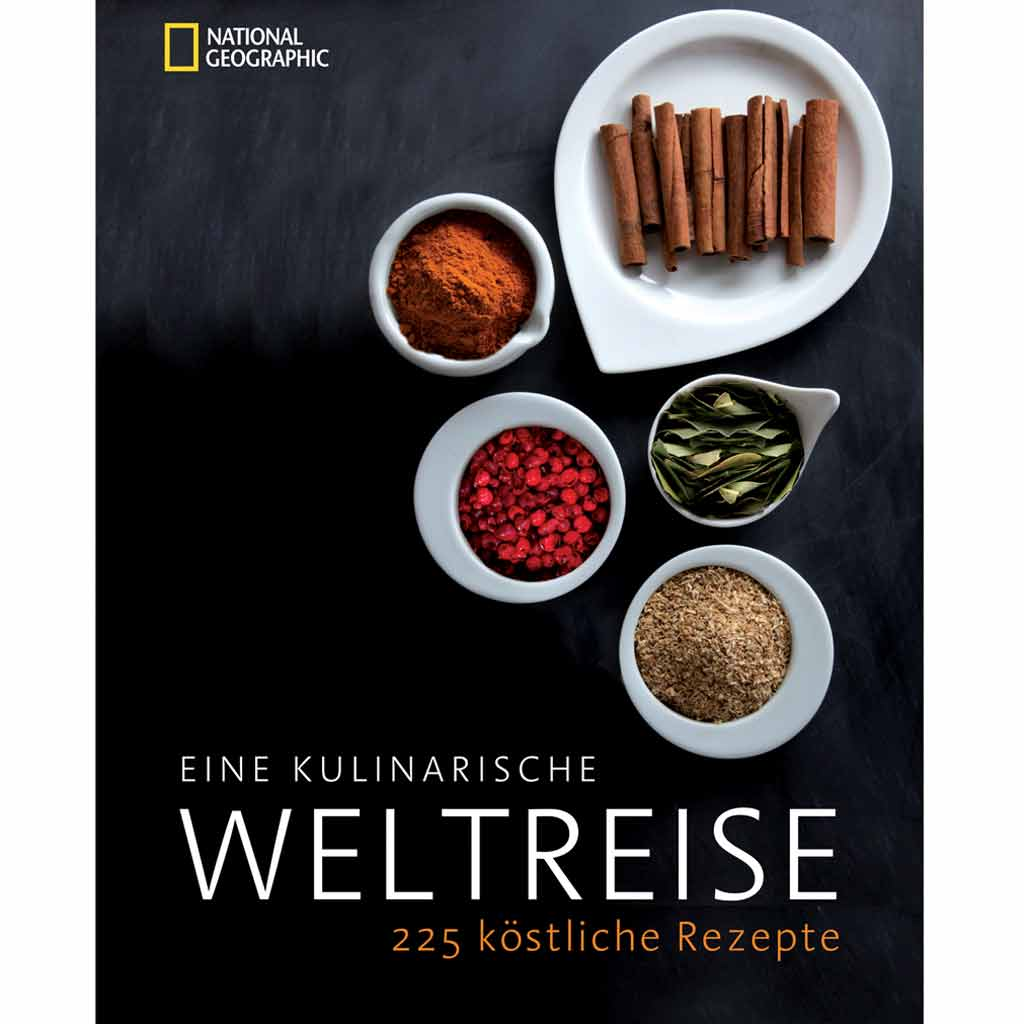 Eine kulinarische Weltreise - [ESSEN UND TRINKEN]