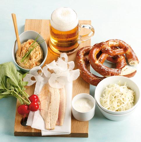 Übersetzung: bayerische spezialitäten - [essen und trinken]
