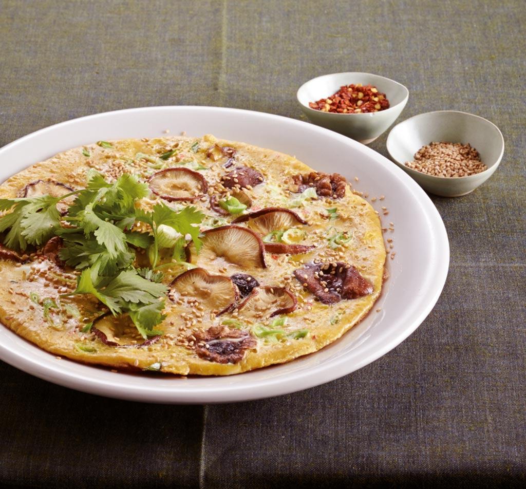 shiitake omelett rezept essen und trinken. Black Bedroom Furniture Sets. Home Design Ideas