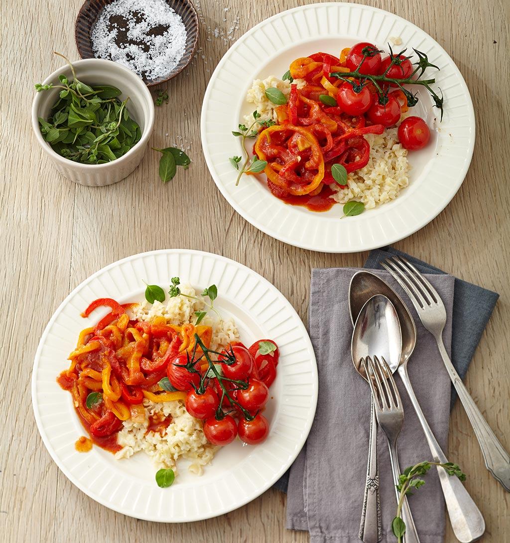 die besten rezepte mit tomaten essen und trinken. Black Bedroom Furniture Sets. Home Design Ideas