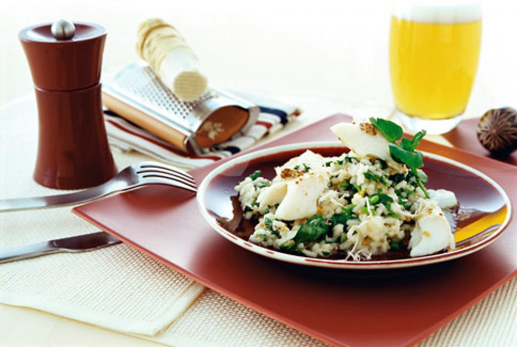 brunnenkresse risotto rezept essen und trinken. Black Bedroom Furniture Sets. Home Design Ideas