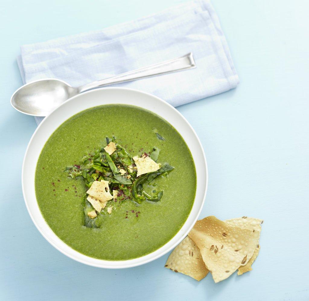 curry spinat suppe rezept essen trinken. Black Bedroom Furniture Sets. Home Design Ideas