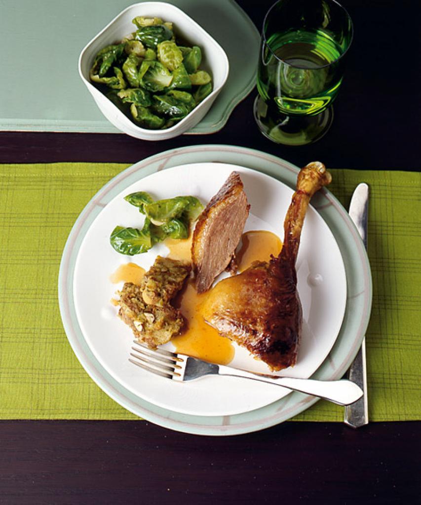 Ofen gebratenes Huhn ohne Knochen Brüste