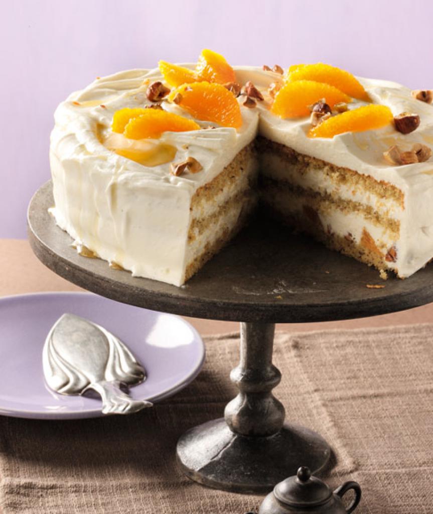 Schnelle Blechkuchen Rezepte Mit Bild: Joghurt-Orangen-Torte Rezept