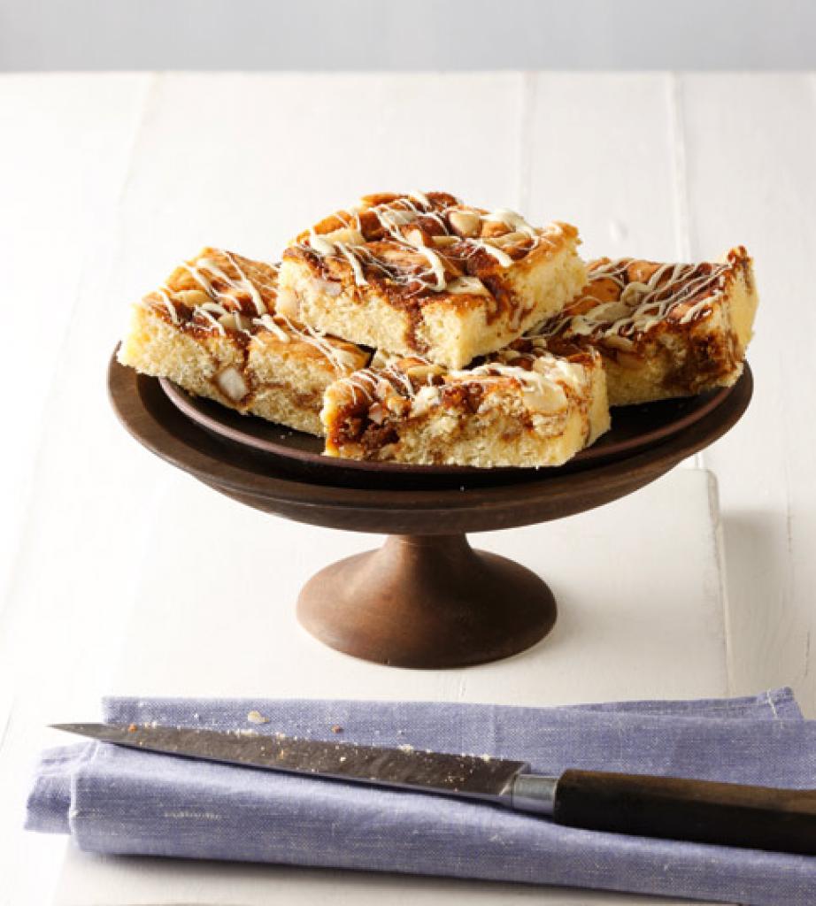 Schnelle Blechkuchen Rezepte Mit Bild: Kaffee-Karamell-Kuchen Rezept
