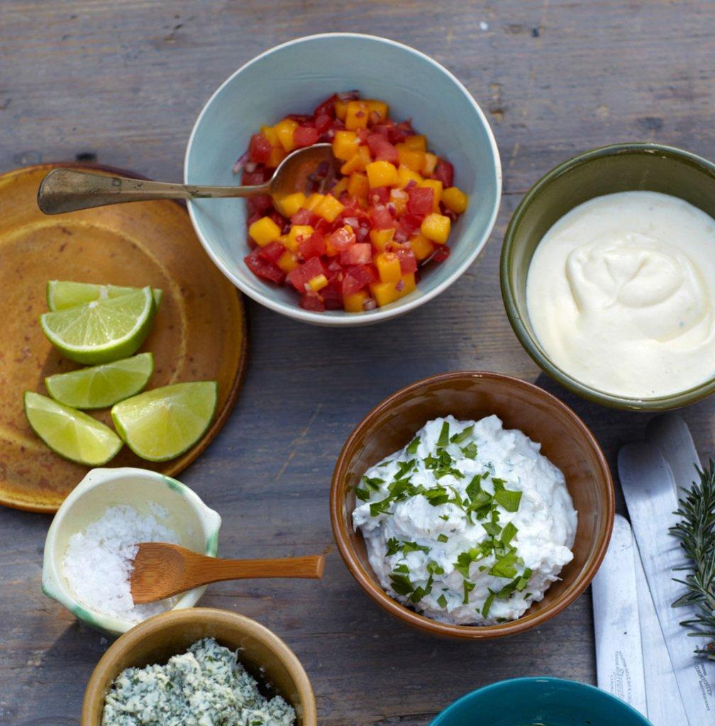 mango tomaten salsa rezept essen und trinken. Black Bedroom Furniture Sets. Home Design Ideas