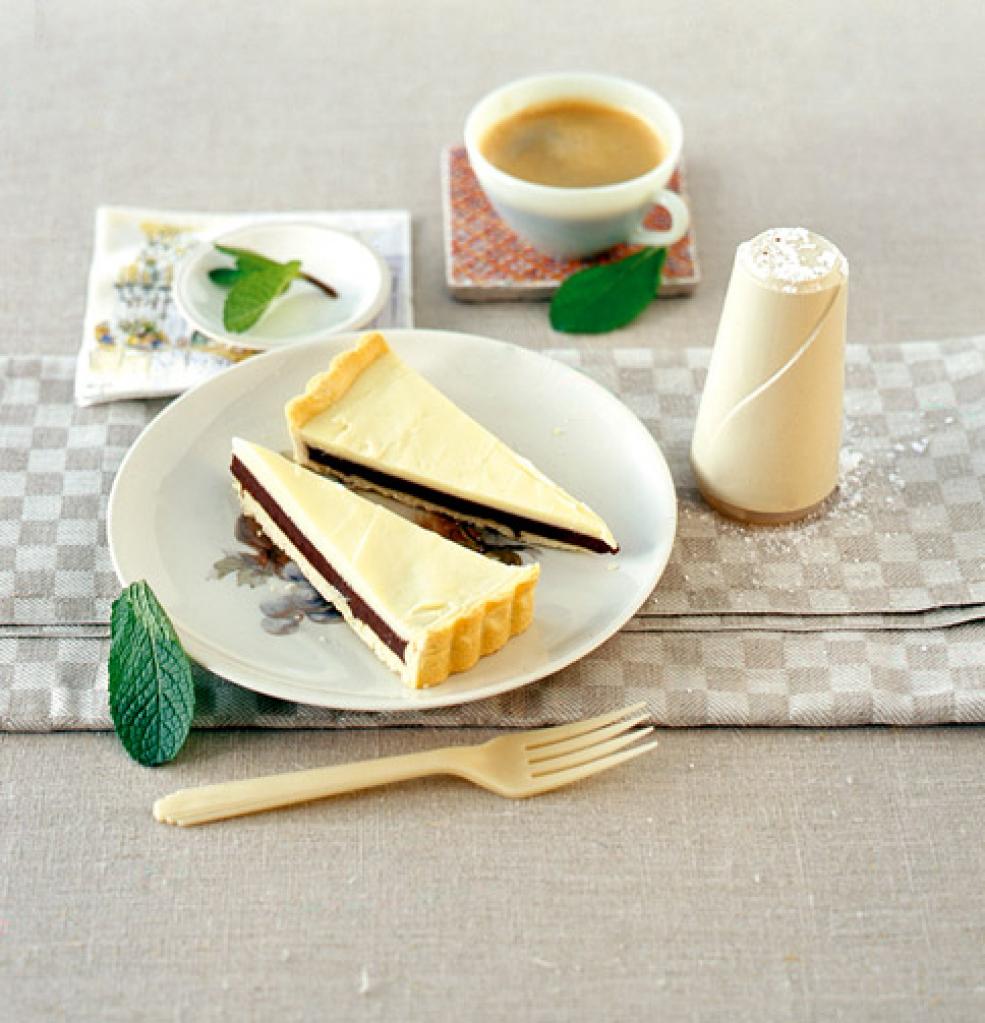 schoko lakritz tarte rezept essen und trinken. Black Bedroom Furniture Sets. Home Design Ideas