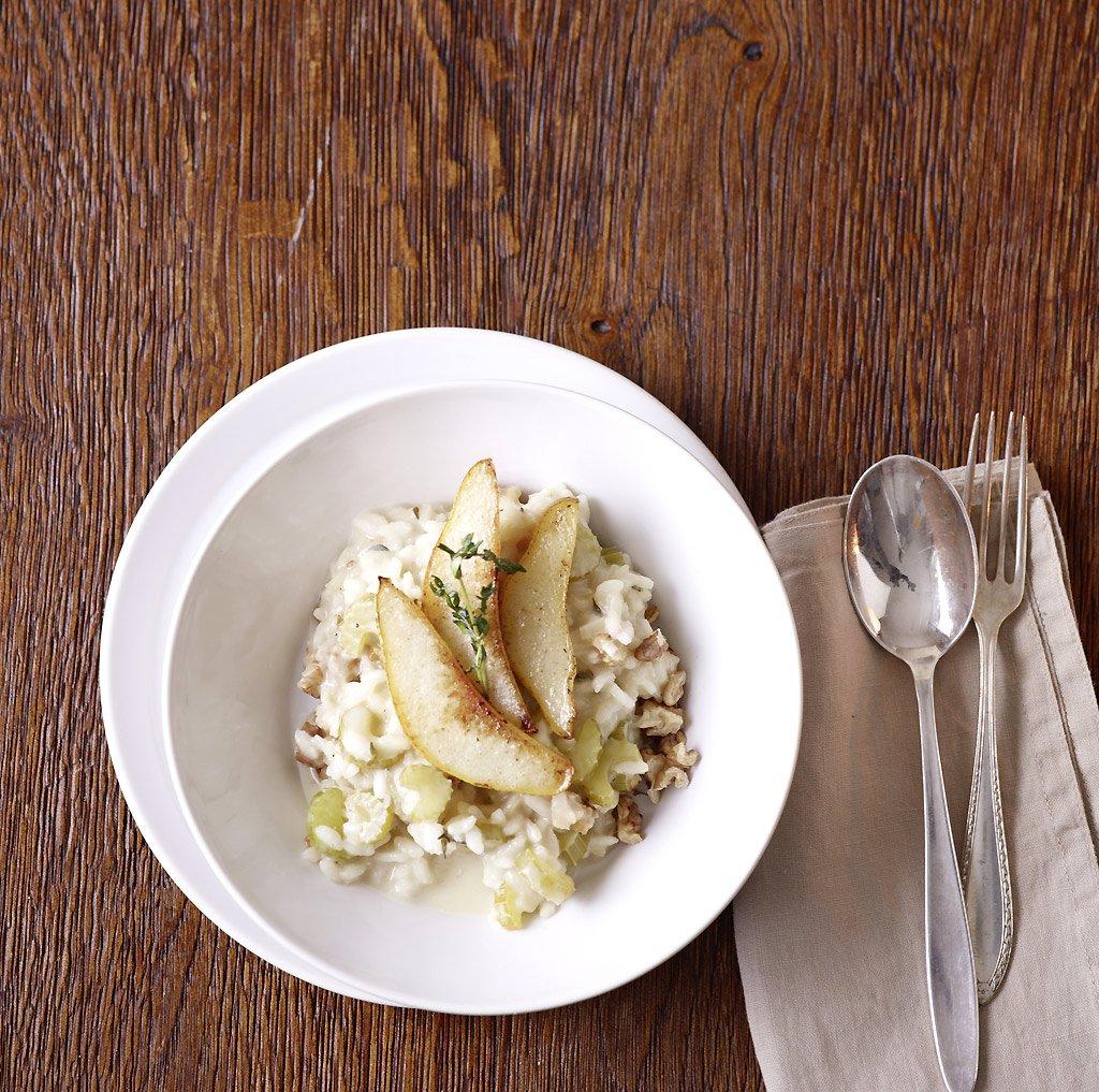 walnuss risotto rezept essen und trinken. Black Bedroom Furniture Sets. Home Design Ideas
