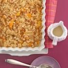 Aprikosen-Ingwer-Crumble