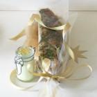 Asia-Graved-Zander mit Wasabi-Honig-Creme