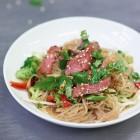 Asia-Roastbeef-Salat