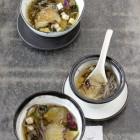 Asia-Suppe mit Austernpilzen