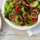 Avocado-Salat mit Feigen
