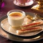 Grüntee-Crème-brûlée