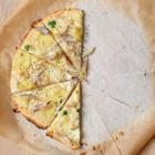 Kartoffel-Schalotten-Pizza