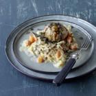 Kürbis-Sauerkraut mit Semmelknödeln
