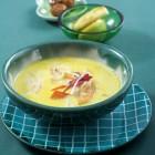 Kürbissuppe mit Apfel und Maronen