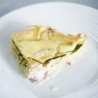 Lasagne mit Zucchini und Schinken