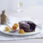 Schokoladen-Olivenöl-Törtchen