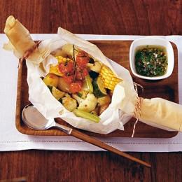 Gemüse mit Kapernvinaigrette