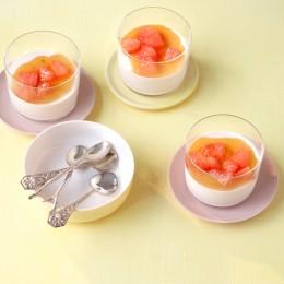 Grapefruit-Kokos-Panna-cotta
