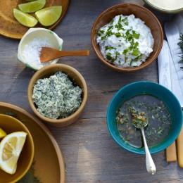 Kräuter-Frischkäse-Butter