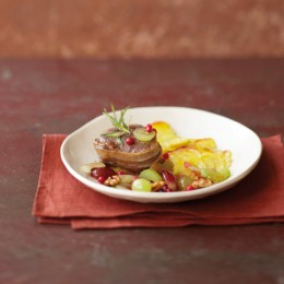 Rinderfilet mit Trauben-Cranberry-Vinaigrette