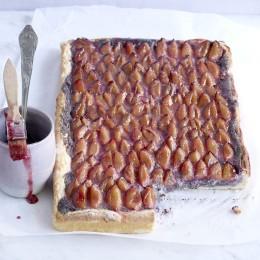 Zwetschgen-Mohn-Blechkuchen