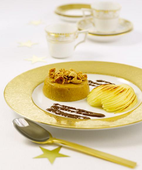 amaretto pudding mit gratinierten birnen rezepte weihnachtsmen zum vorbereiten 4 essen. Black Bedroom Furniture Sets. Home Design Ideas