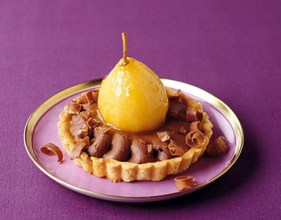 Birnen-Schokoladen-Tartelettes