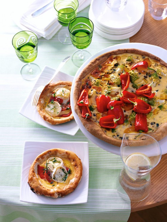 Curry-Paprika-Quiche