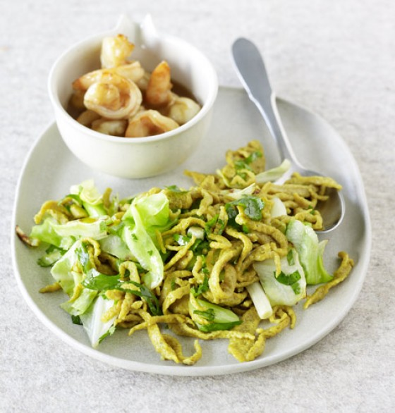 Curry-Spätzle