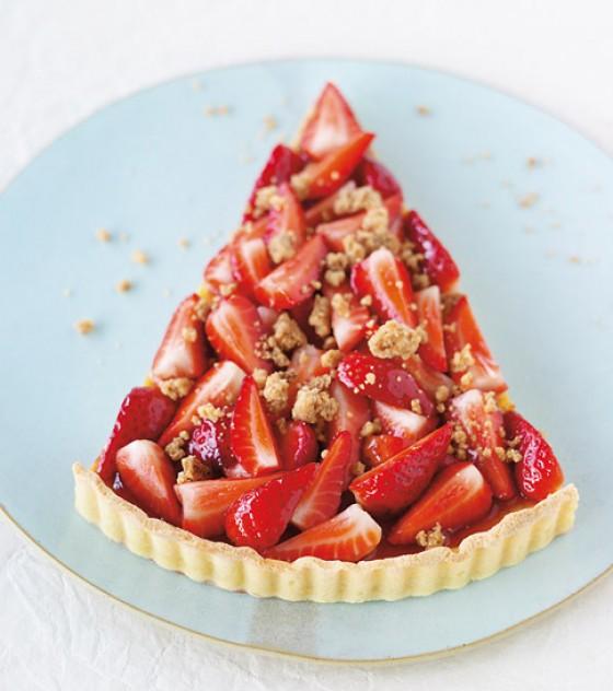 Erdbeer-Royal-Torte