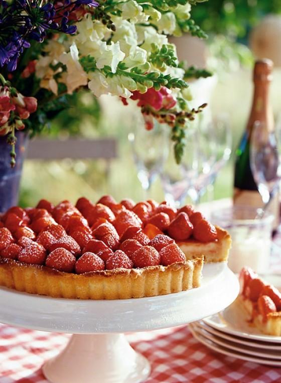 Erdbeer-Zitronen-Tarte