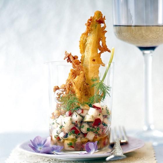 Gebackener Fenchel mit Birnen-Salsa
