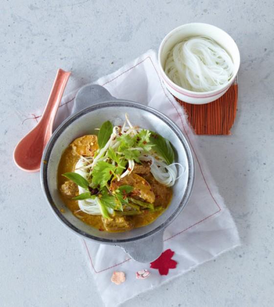 Gelbes Rindfleisch-Curry