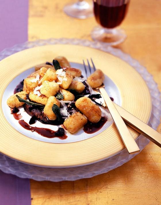 Gnocchi mit Portobellopilzen
