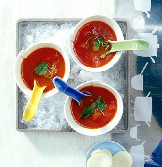 Kalte Melonensuppe