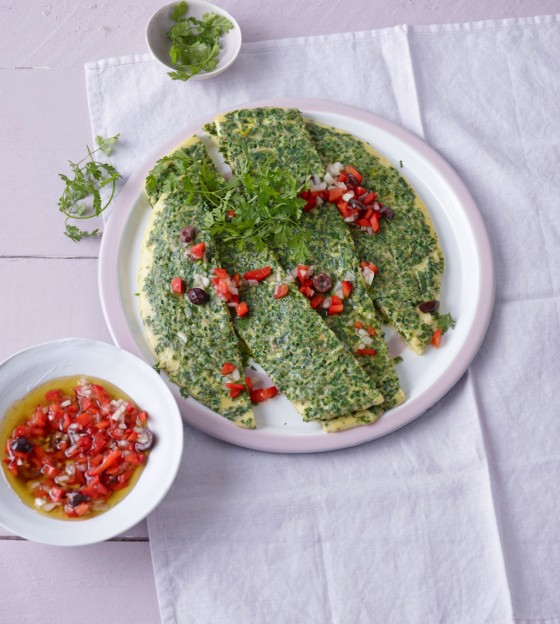 Kräuter-Frittata