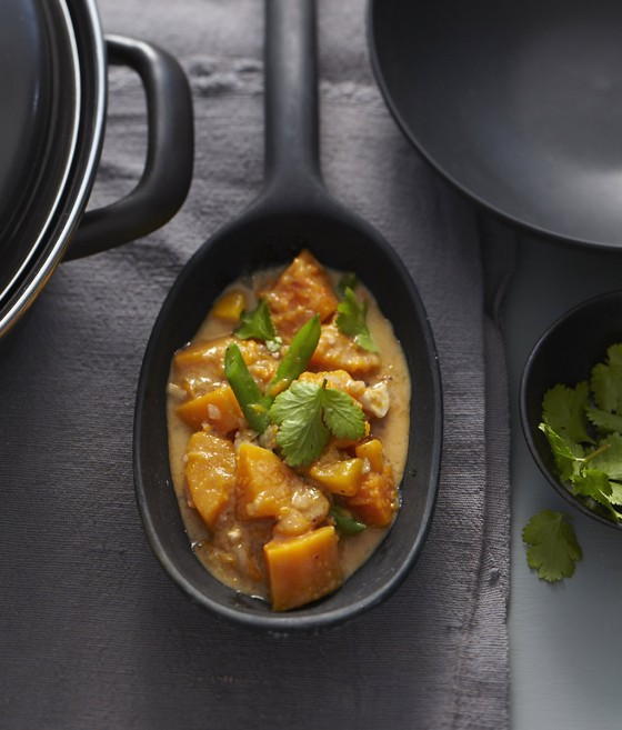 Kürbis-Curry mit Mango