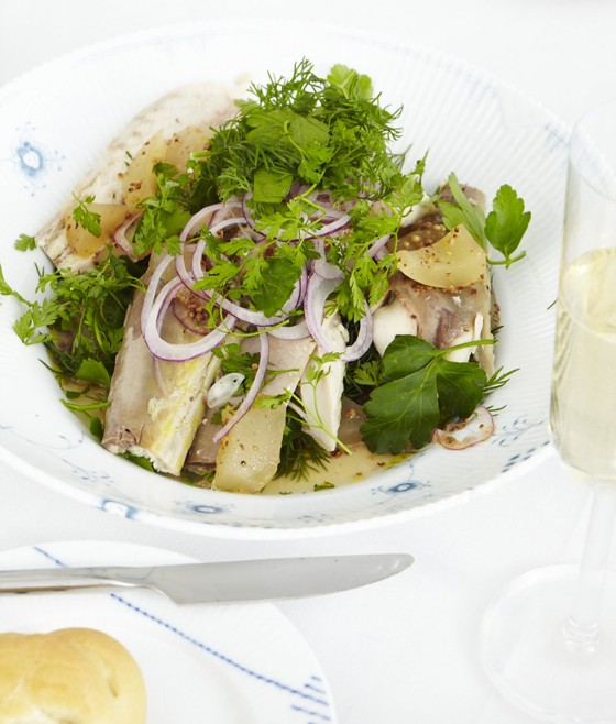 Räuchermakrelen-Salat