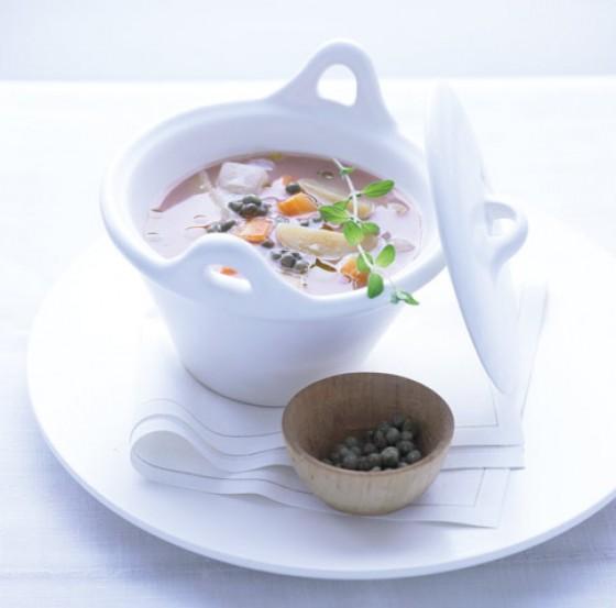 Rhabarber-Gemüse-Eintopf