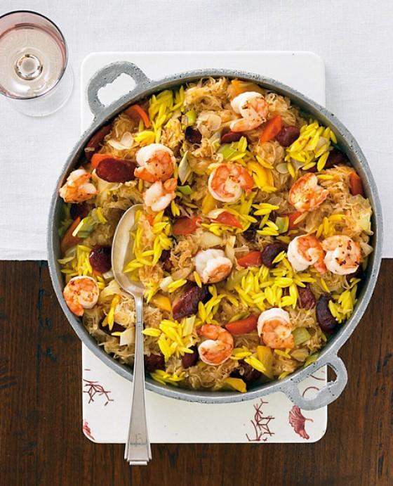 Sauerkraut-Paella