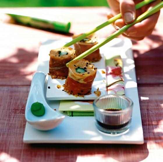 Süßkartoffel-Sushi