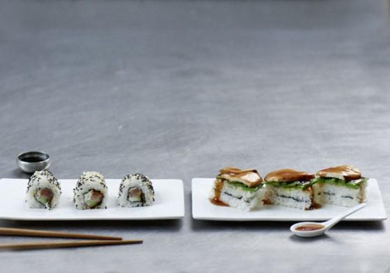 Sushi-Schnitten