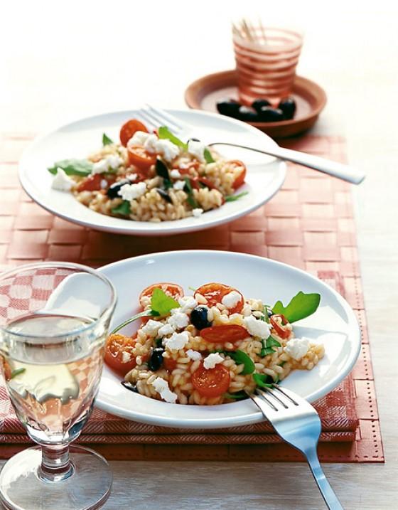 tomaten rauke risotto rezept essen trinken. Black Bedroom Furniture Sets. Home Design Ideas