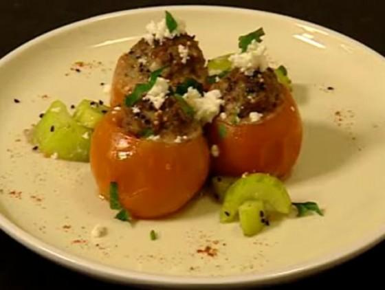 Tomaten mit orientalischer Füllung