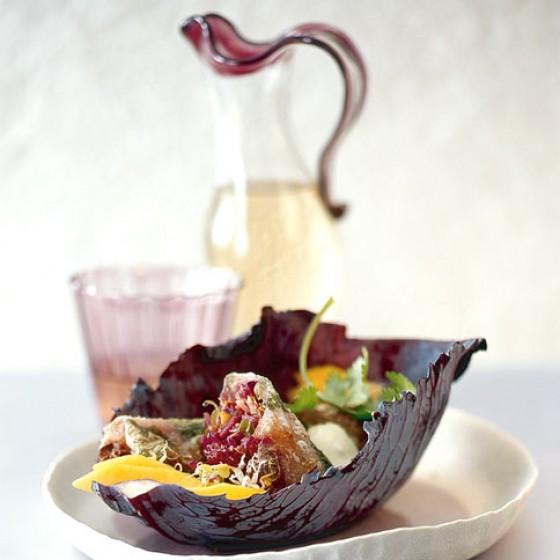 winterrollen mit wasabi schmand rezept essen und trinken. Black Bedroom Furniture Sets. Home Design Ideas