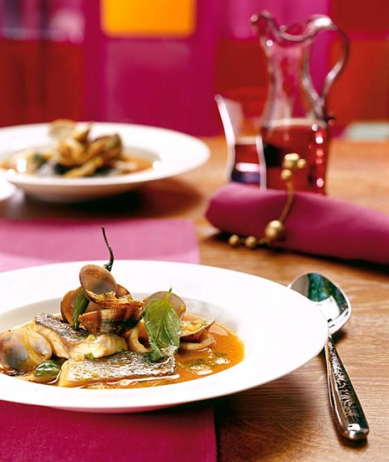 Zarzuela - Spanische Fischsuppe