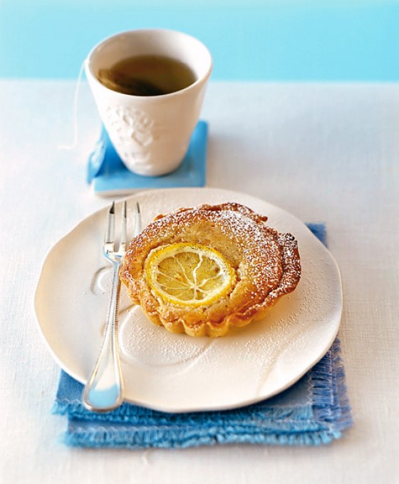 Zitronen-Pinienkern-Tartelettes